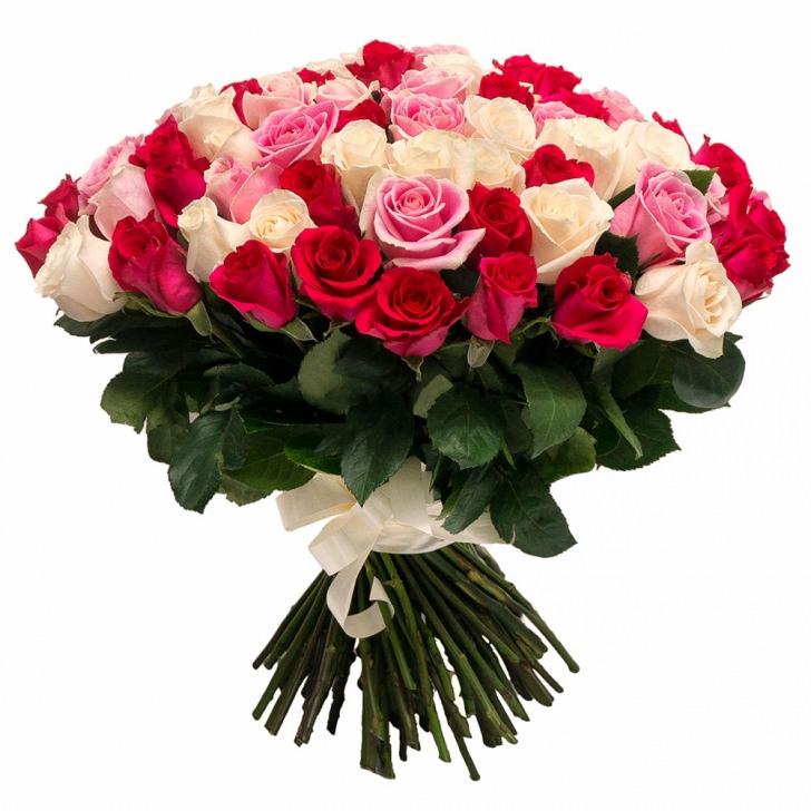 Розы Эквадор микс 3